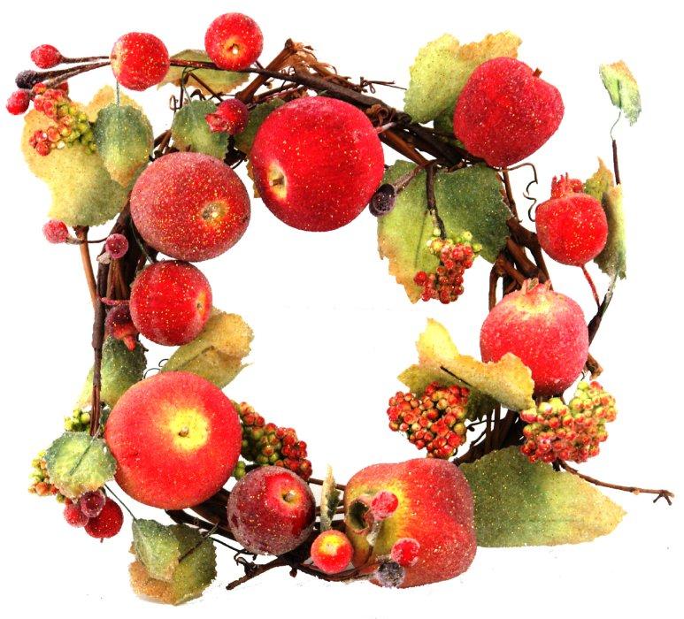Иллюстрация 1 из 3 для Украшение декоративное: венок из фруктов (Ф21-72) | Лабиринт - сувениры. Источник: Лабиринт