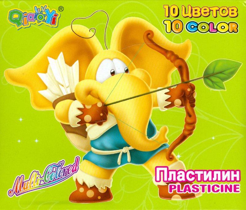 Иллюстрация 1 из 6 для Пластилин восковой 10 цветов (1123) | Лабиринт - игрушки. Источник: Лабиринт