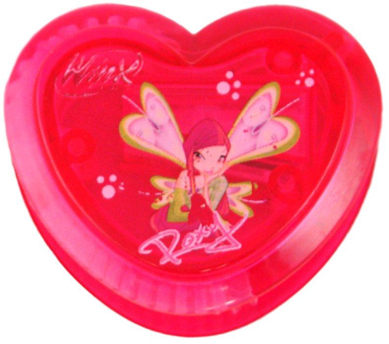 """Иллюстрация 1 из 4 для Точилка одинарная """"Winx"""" Сердце (CD-8121/W)   Лабиринт - канцтовы. Источник: Лабиринт"""
