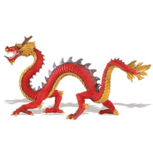 Иллюстрация 1 из 12 для Рогатый китайский дракон (10135) | Лабиринт - игрушки. Источник: Лабиринт