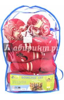 Игра Боулинг, в сумке (10 кеглей, 2 мяча) (JBP-08-2 (B)) от Лабиринт
