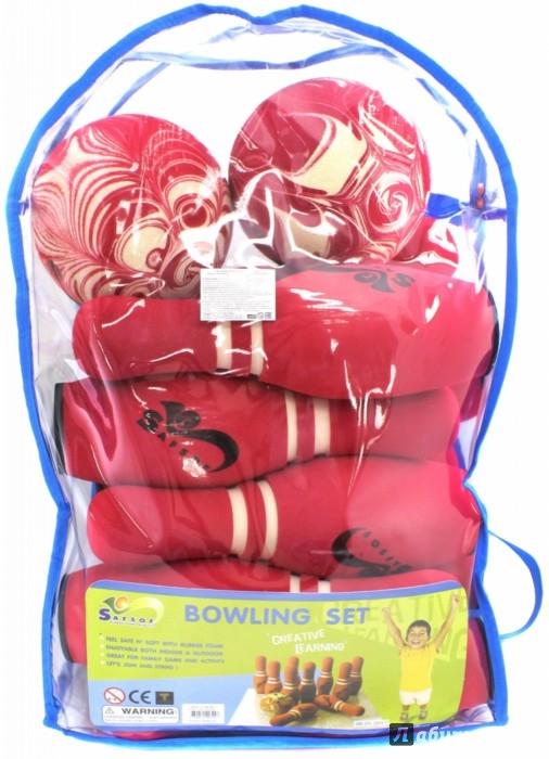 Иллюстрация 1 из 2 для Игра Боулинг, в сумке (10 кеглей, 2 мяча) (JBP-08-2 (B)) | Лабиринт - игрушки. Источник: Лабиринт