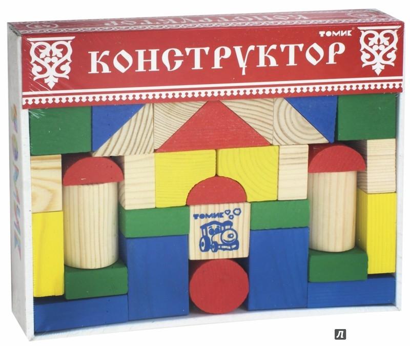 Иллюстрация 1 из 14 для Конструктор цветной (43 детали) (6678-43) | Лабиринт - игрушки. Источник: Лабиринт