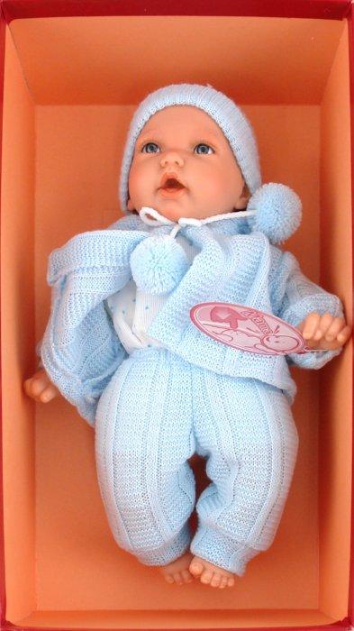 Иллюстрация 1 из 5 для Кукла-младенец Бони в голубом (4421B) | Лабиринт - игрушки. Источник: Лабиринт