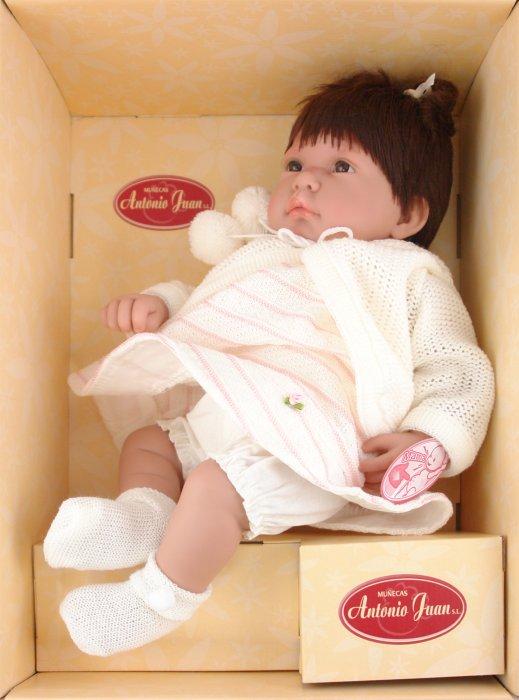 Иллюстрация 1 из 16 для Кукла Паула брюнетка в белом (4484W) | Лабиринт - игрушки. Источник: Лабиринт
