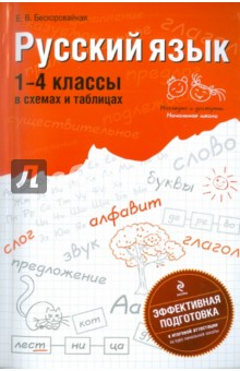 Русский язык: 1-4 классы в схемах и таблицах