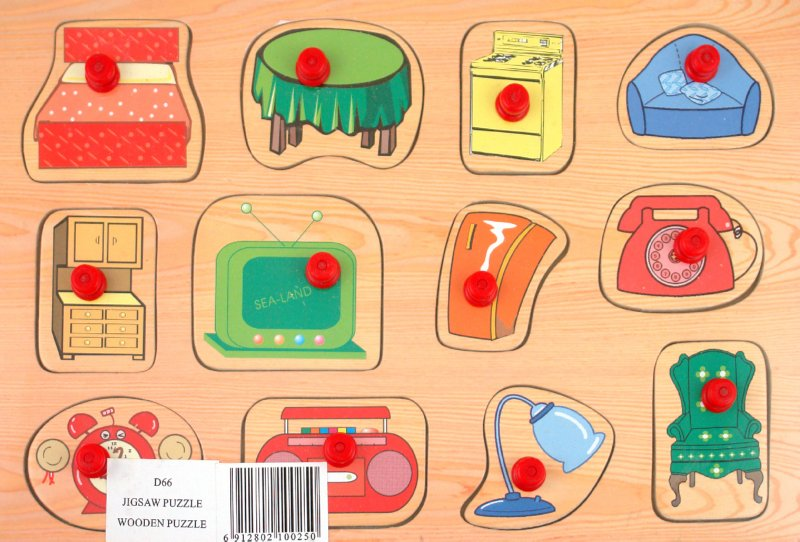 Иллюстрация 1 из 4 для Мебель (D66) | Лабиринт - игрушки. Источник: Лабиринт
