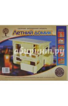 Купить Сборная модель Летний домик (PH001), ВГА, Сборные 3D модели из дерева неокрашенные мини