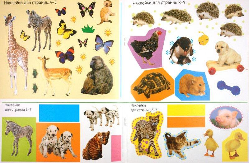 Иллюстрация 1 из 10 для Играй и наклеивай. Пушистые малыши | Лабиринт - книги. Источник: Лабиринт