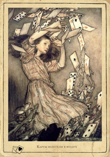 Иллюстрация 1 из 36 для Приключения Алисы в Стране Чудес. Открытки с историей - Льюис Кэрролл   Лабиринт - книги. Источник: Лабиринт