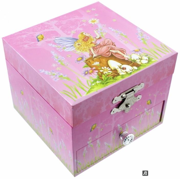 """Иллюстрация 1 из 3 для Шкатулка музыкальная """"Фея в розах"""" (20000)   Лабиринт - игрушки. Источник: Лабиринт"""