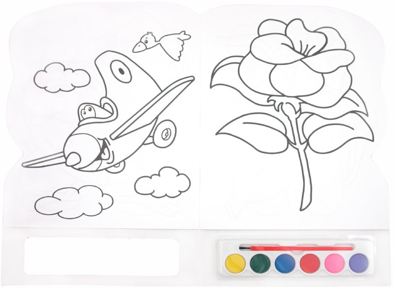 Иллюстрация 1 из 3 для Краски и раскраски. Щенок | Лабиринт - книги. Источник: Лабиринт