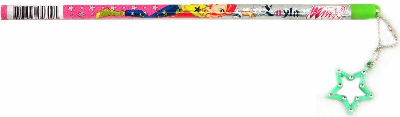 """Иллюстрация 1 из 4 для Карандаш HB с подвеской Звезда """"Winx"""" (SGT-01S/WR[26])   Лабиринт - канцтовы. Источник: Лабиринт"""