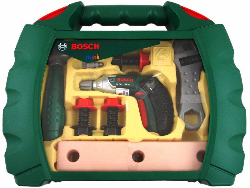 Иллюстрация 1 из 2 для Набор инструментов Bosch в чемодане (8384)   Лабиринт - игрушки. Источник: Лабиринт
