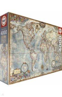 Пазл-4000 Политическая карта мира (14827) монитор за 4000 рублей