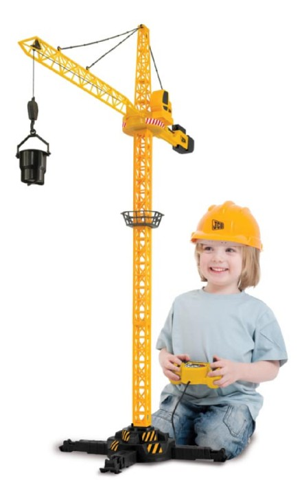 Иллюстрация 1 из 2 для Подъемный кран с дистанционным управлением (120 см) (1415390) | Лабиринт - игрушки. Источник: Лабиринт