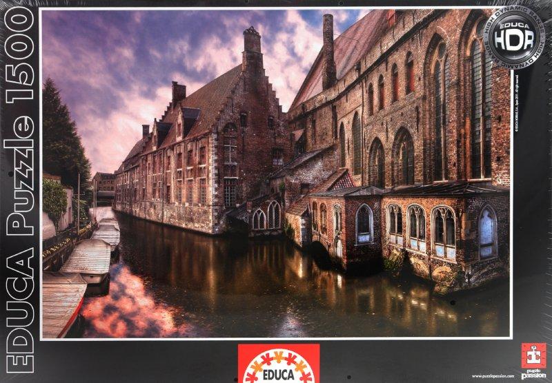 """Иллюстрация 1 из 2 для Пазл-1500 """"Бельгия, Брюгге"""" (14848)   Лабиринт - игрушки. Источник: Лабиринт"""