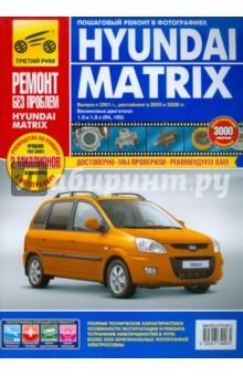 Hyundai Matrix: Руководство по эксплуатации, техническому обслуживанию и ремонту автомобильный коврик seintex 86884 для hyundai matrix