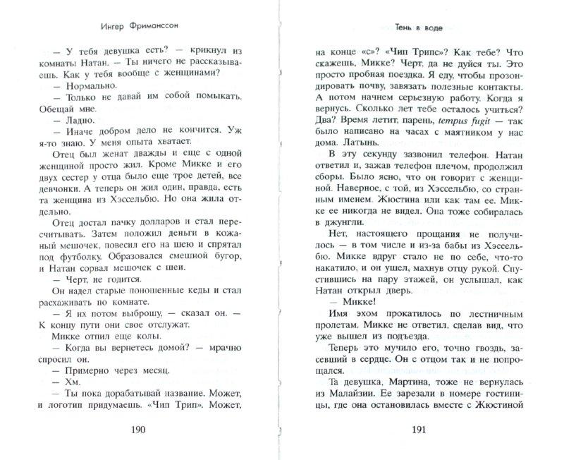 Иллюстрация 1 из 17 для Тень в воде - Ингер Фриманссон | Лабиринт - книги. Источник: Лабиринт