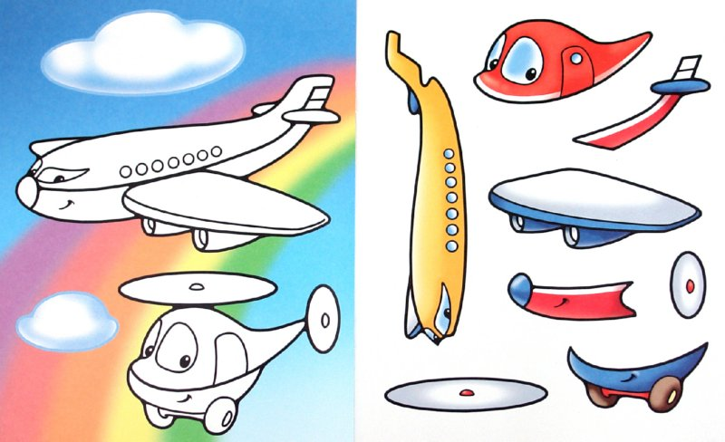 """Иллюстрация 1 из 10 для Аппликация """"Большой, маленький"""" (03110)   Лабиринт - игрушки. Источник: Лабиринт"""