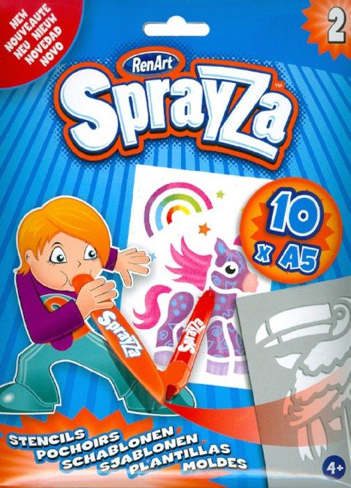 Иллюстрация 1 из 5 для Набор шаблонов Sprayza 2 (ST2202) | Лабиринт - игрушки. Источник: Лабиринт