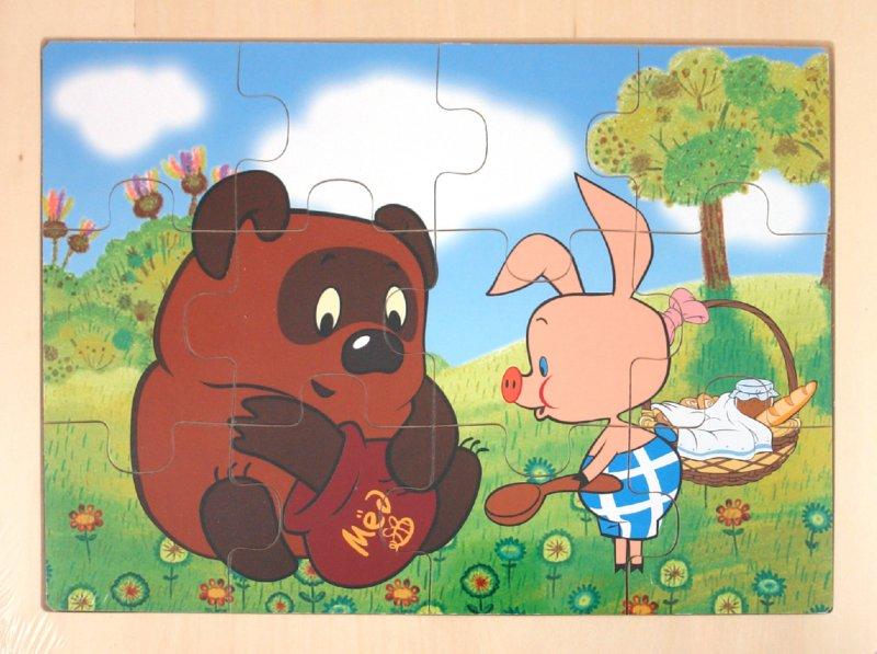 Иллюстрация 1 из 6 для Пазлы в рамке, 12 деталей, ассортимент (1027) (8048) | Лабиринт - игрушки. Источник: Лабиринт