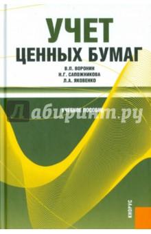 Книга Учета Ценных Бумаг