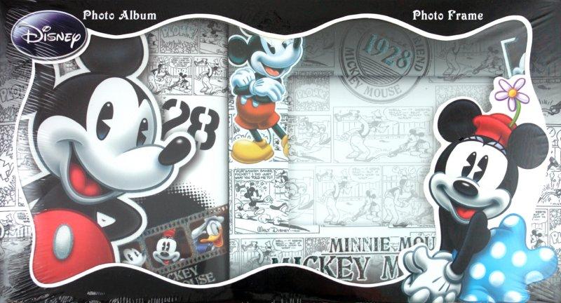 "Иллюстрация 1 из 7 для Набор: фотоальбом + фоторамка: ""Mickey and Minnie"" (12212) | Лабиринт - сувениры. Источник: Лабиринт"