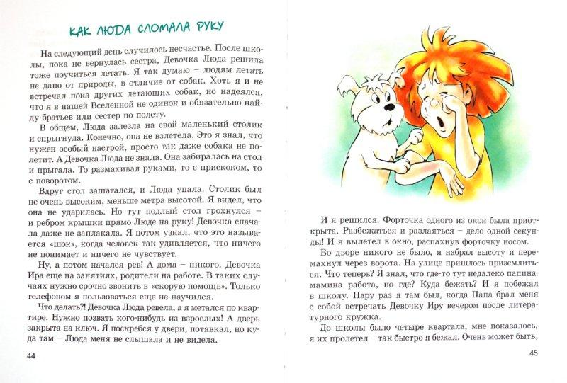 Иллюстрация 1 из 30 для Пух, летающая собака - Людмила Одинцова   Лабиринт - книги. Источник: Лабиринт
