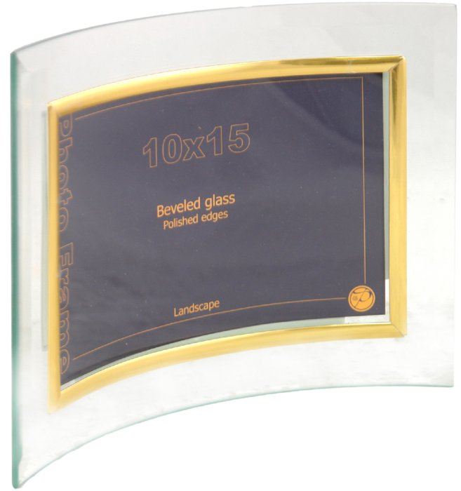 Иллюстрация 1 из 3 для Фоторамка стеклянная 10х15 см (GT114) | Лабиринт - сувениры. Источник: Лабиринт