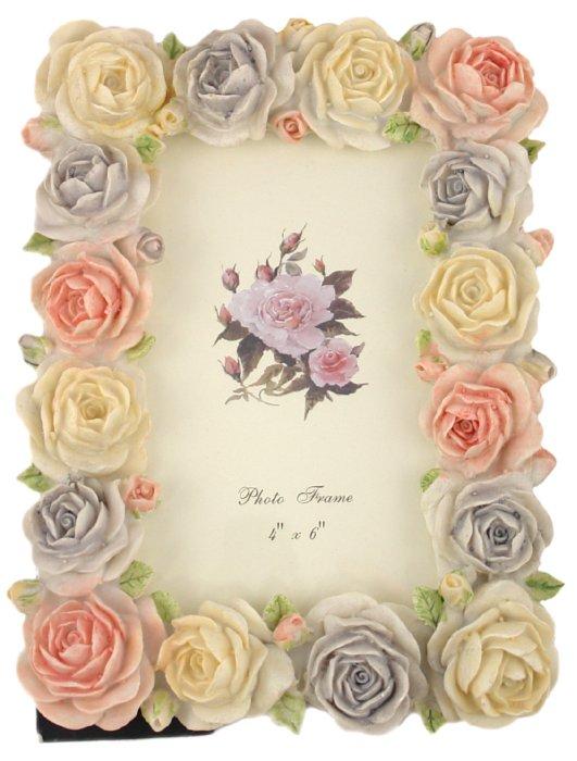 """Иллюстрация 1 из 6 для Фоторамка 10х15 """"Pale roses"""" (LF06015)   Лабиринт - сувениры. Источник: Лабиринт"""