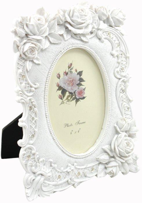 "Иллюстрация 1 из 6 для Фоторамка 10х15 см ""Oval white"" (LF07113-146W) | Лабиринт - сувениры. Источник: Лабиринт"