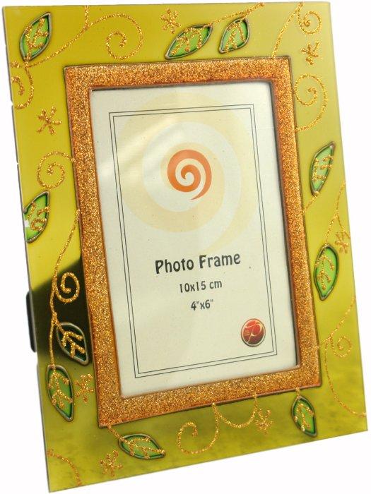 """Иллюстрация 1 из 5 для Фоторамка 10х15 см """"Green w/gold"""" (1896А)   Лабиринт - сувениры. Источник: Лабиринт"""