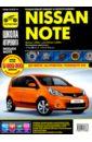 Nissan Note 2005-2008 г. (ч/б) Руководство по эксплуатации, техническому обслуживанию и ремонту,