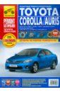Toyota Corolla/Auris с 2007 г. Руководство по эксплуатации, техническому обслуживанию и ремонту toyota auris corolla с 2007 бензин дизель пособие по ремонту и эксплуатации 978 966 1672 46 7