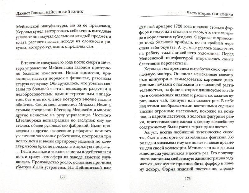 Иллюстрация 1 из 14 для Мейсенский узник - Джанет Глисон | Лабиринт - книги. Источник: Лабиринт