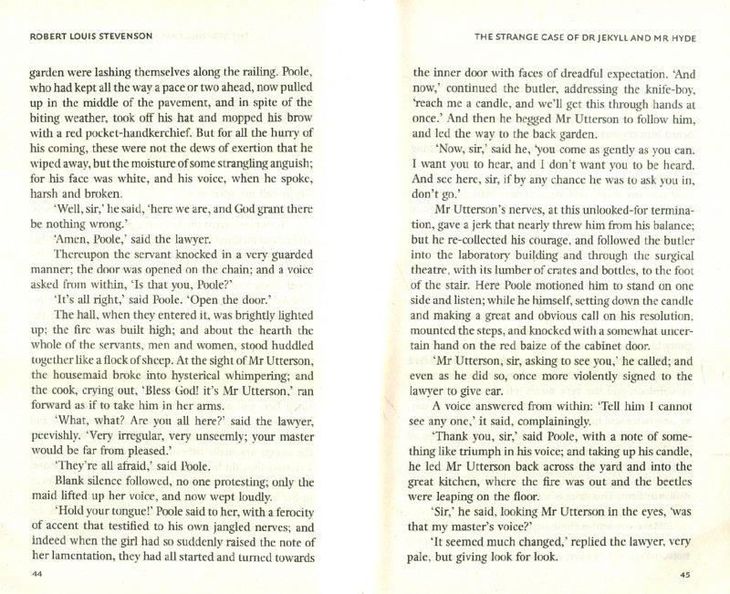 Иллюстрация 1 из 7 для The Strange Case of Dr Jekyll and Mr Hyde - Robert Stevenson | Лабиринт - книги. Источник: Лабиринт
