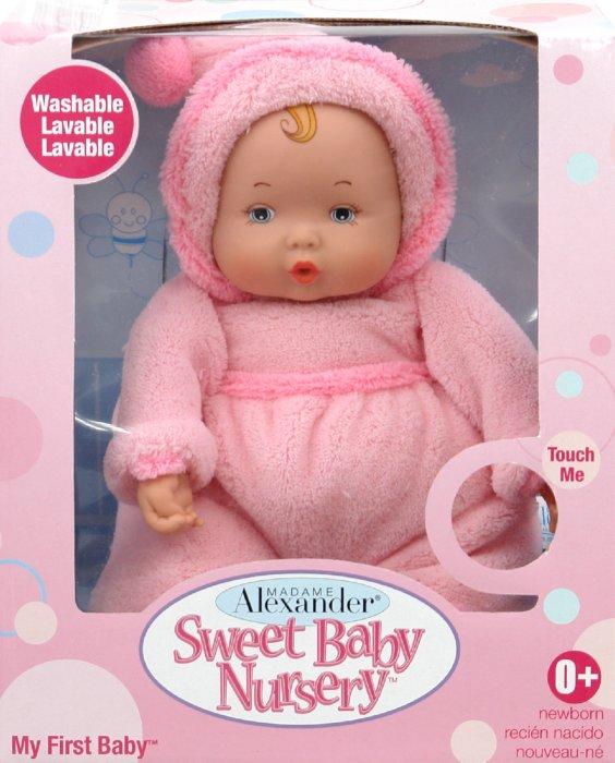 Иллюстрация 1 из 4 для Малышка в розовом (46670) | Лабиринт - игрушки. Источник: Лабиринт