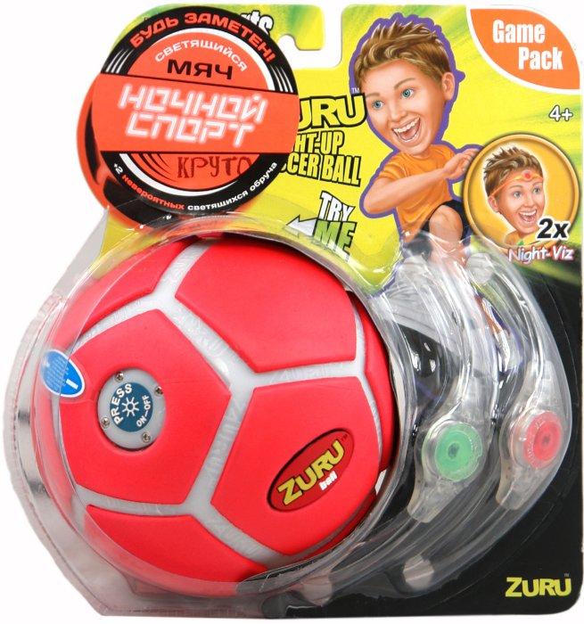 Иллюстрация 1 из 2 для Светящийся футбольный мяч, цвет в ассортименте (895002) | Лабиринт - игрушки. Источник: Лабиринт