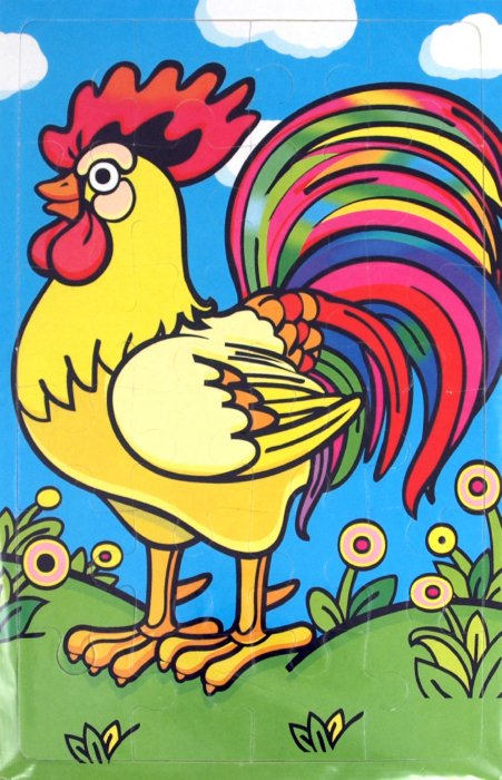 Иллюстрация 1 из 4 для Мягкие пазлы. Петушок (2176) | Лабиринт - игрушки. Источник: Лабиринт
