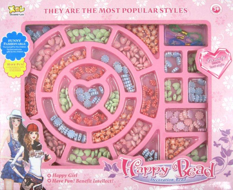 Иллюстрация 1 из 3 для Набор из бисера (5566CXDY) | Лабиринт - игрушки. Источник: Лабиринт