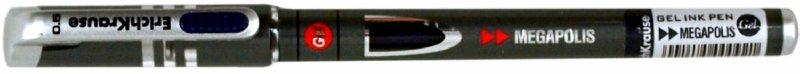 Иллюстрация 1 из 4 для Ручка гелевая Megapolis gel 92 синяя (141235) | Лабиринт - канцтовы. Источник: Лабиринт