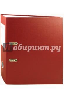 Папка-регистратор, 70 мм. Бордовая (220892)
