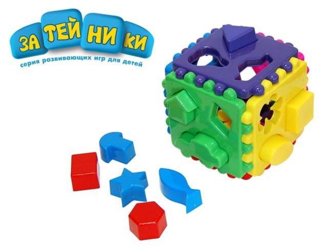 Иллюстрация 1 из 5 для Куб логический (GT2484) (большой) | Лабиринт - игрушки. Источник: Лабиринт