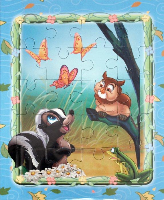 Иллюстрация 1 из 9 для Бемби. Мозаика-малышка | Лабиринт - книги. Источник: Лабиринт