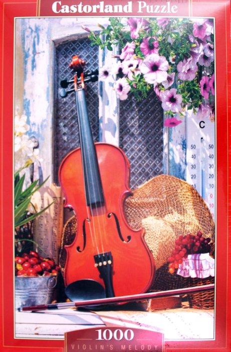 """Иллюстрация 1 из 3 для Пазл-мозаика """"Мелодия скрипки"""" 1000 деталей (C-102266)   Лабиринт - игрушки. Источник: Лабиринт"""
