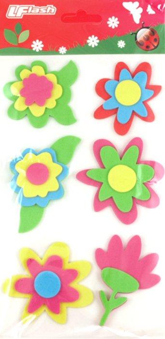 Иллюстрация 1 из 2 для Наклейки детские (EVA Sticker) | Лабиринт - игрушки. Источник: Лабиринт