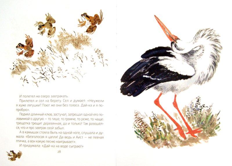 Иллюстрация 1 из 37 для Кто чем поет? - Виталий Бианки | Лабиринт - книги. Источник: Лабиринт