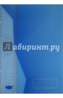 """Тетрадь """"Stila Futura"""" 96 листов, А4, клетка, голубая (198470)"""