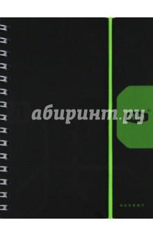 """Книжка записная А6, 80 листов, линейка """"Stila Accent"""" (106902)"""